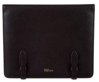 Alexander McQueen Leather Tablet Case w/ Tags