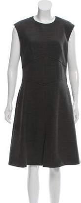 Brooks Brothers Wool-Blend Dress