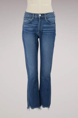 3x1 3 X 1 Authentic straight cropped jeans