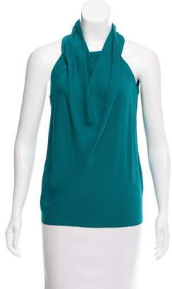Gucci Sleeveless Silk Top