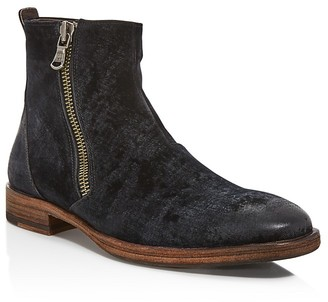 John Varvatos Star USA Mitchell Side Zip Boots $348 thestylecure.com