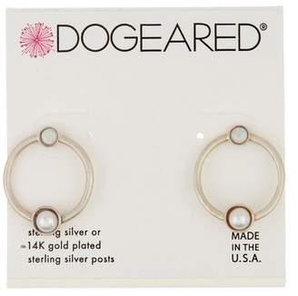 Dogeared Sterling Silver Playing It by Ear Open Earrings