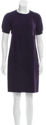 Burberry Mini Short Sleeve Dress