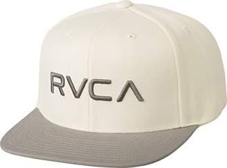 RVCA Men's Twill Snapback Six-Panel Trucker Hat