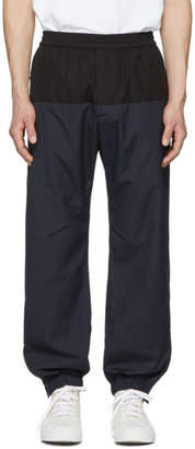 Stella McCartney Navy and Black Cotton Track Pants