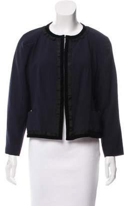 Nina Ricci Textured Wool Jacket