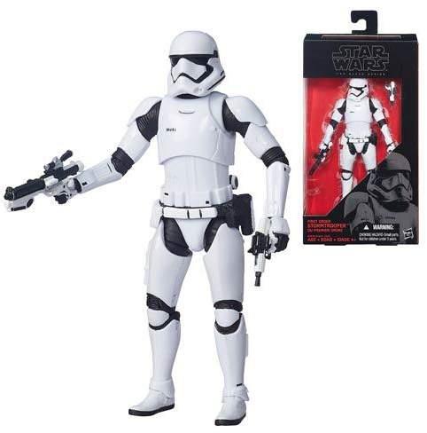 "Hasbro Star Wars: Force Awakens Black Series Stormtrooper 6"" Action Figure"