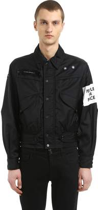Oamc Captain Nylon Jacket W/ Patch