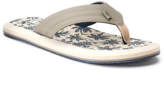 Dockers Men's Palm Tree Flip-Flop Sandals