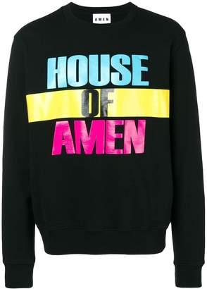 Amen House of スウェットシャツ