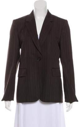 Gucci Striped Notch-Lapel Blazer