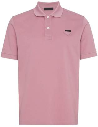 Prada Slim fit polo shirt