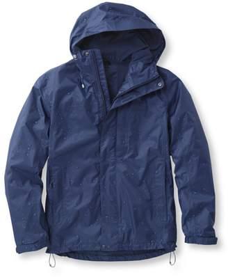 L.L. Bean L.L.Bean Men's Trail Model Rain Jacket, Fleece-Lined
