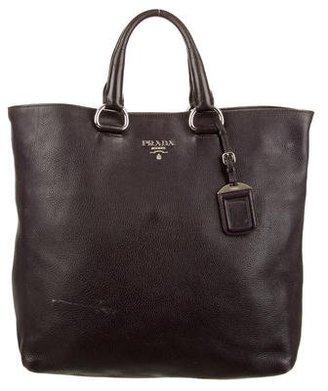 Prada Vitello Daino Shopper Tote $725 thestylecure.com