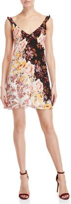 Free People Lauria Floral Mini Slip Dress