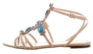 Charlotte Olympia Embellished Multistrap Sandals