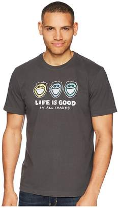 Life is Good Jake In All Shades Crusher Tee Men's T Shirt