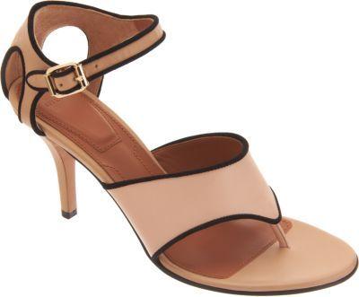 Givenchy Piped Thong Sandal