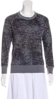 IRO Semi-Sheer Long Sleeve Sweatshirt