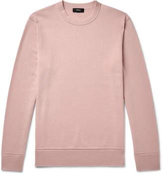 Theory Hills Melange Cashmere Sweater