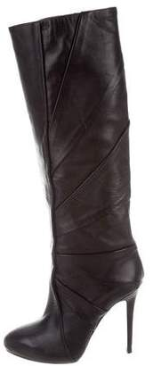 H Williams Leather Knee-High Boots