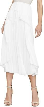 BCBGMAXAZRIA Women's Bre Pleated Midi Skirt