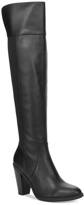 Kenneth Cole Reaction Women's Very Clear Tall Boots $149 thestylecure.com