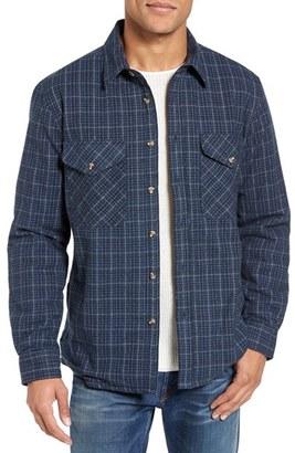 Men's Schott Nyc Plaid Shirt Jacket $145 thestylecure.com