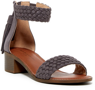Rock & Candy Nancie Woven Ankle Strap Sandal $59 thestylecure.com