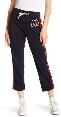 Mother Side Stripe Knit Sweatpants