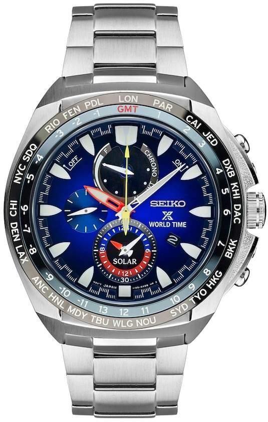 SeikoSeiko Men's Prospex Special Edition Kojiro Shiraishi World Time Solar Watch - SSC549