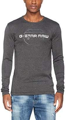 G Star Men's Tars R T L/s Long Sleeve Top, (White 110)