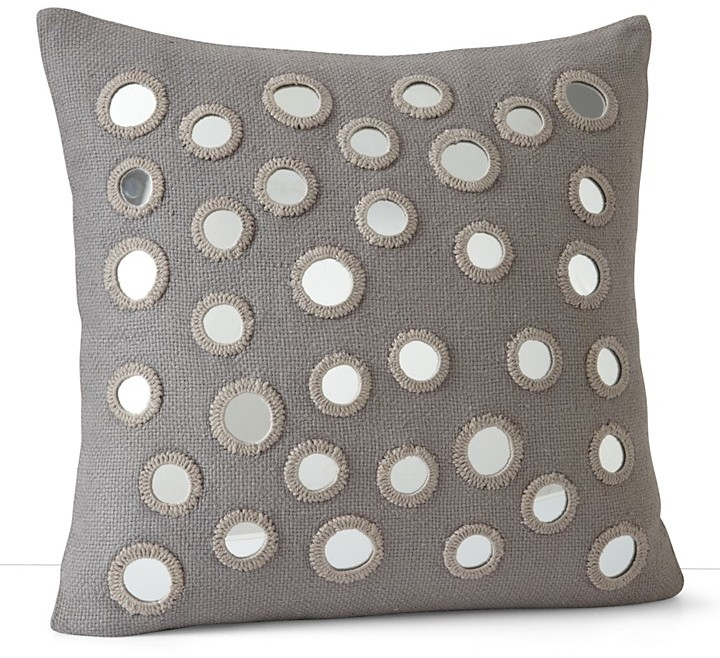 "John Robshaw Sheesha Mirrored Decorative Pillow, 20"" x 20"""