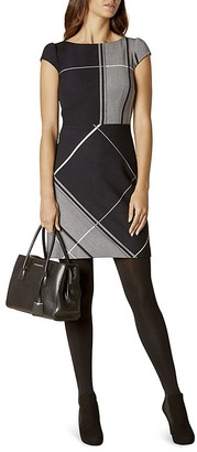 KAREN MILLEN Check Dress $360 thestylecure.com