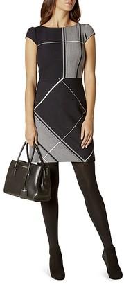 KAREN MILLEN Check Dress $360 thestylecure.com