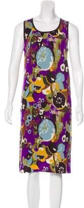 Tory Burch Wool Patterned Dress