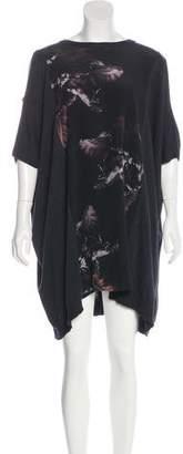 AllSaints Paneled Knit Dress