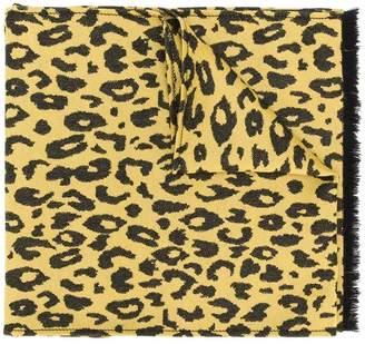 Ermanno Scervino animal print scarf