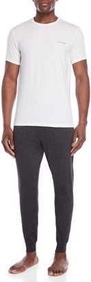 Calvin Klein Two-Piece Tee & Pants PJ Box Set