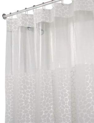 InterDesign Pebblz View Stall Shower Curtain