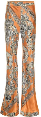 Chloé Printed twill pants