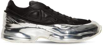 Adidas By Raf Simons Rs Ozweego Leather & Nylon Sneakers