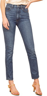 Reformation Stevie Ultra High Waist Cigarette Jeans
