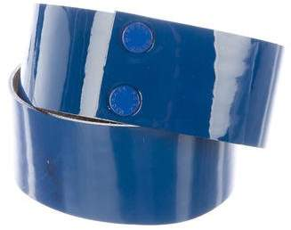 Michael Kors Patent Leather Waist Belt