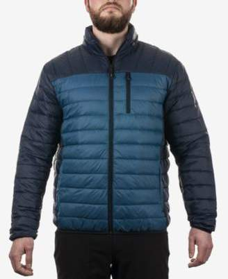 Hawke & Co Men's Colorblocked Packable Down Jacket