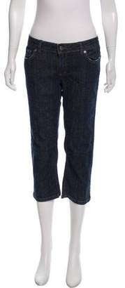 Dolce & Gabbana Mid-Rise Cropped Pants
