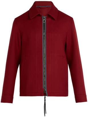 Lanvin Zip-fastening wool jacket