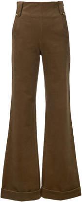 N. Duo corduroy flared trousers