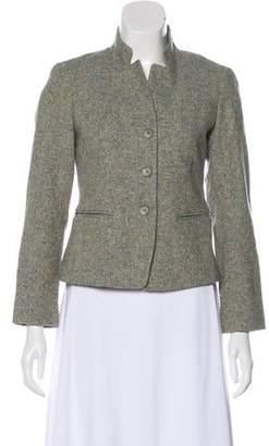 Lafayette 148 Wool-Blend Long Sleeve Blazer