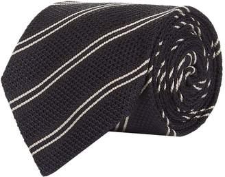 Tom Ford Diagonal Triple Stripe Silk Tie